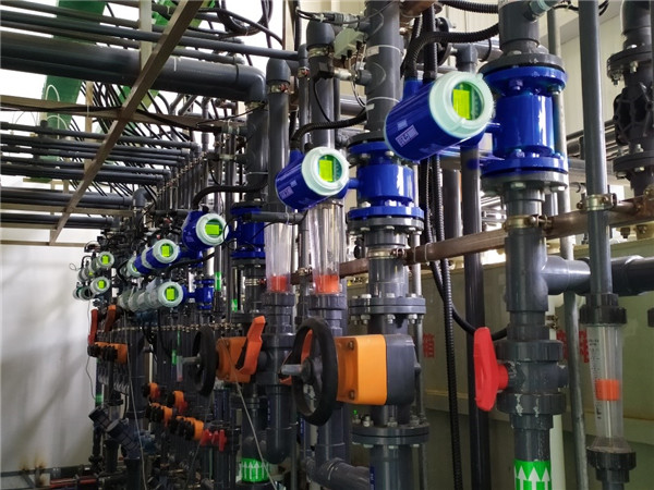 MFE600E电磁流量计在再生水处理中的应用